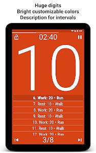 Download Tabata Timer: Interval Timer Workout Timer HIIT 3.7.2 APK