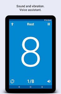 screenshot of Tabata Timer for HIIT training version 2.4.2