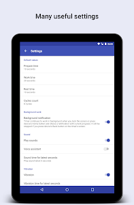 screenshot of Tabata HIIT Timer version 2.0.2