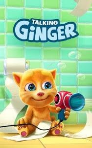 screenshot of Talking Ginger version 2.5.9.19