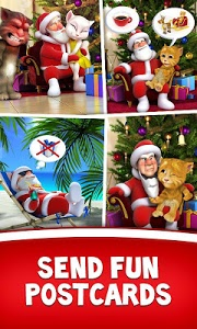 Download Talking Santa meets Ginger 2.0 APK