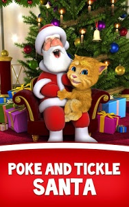 screenshot of Talking Santa meets Ginger version 2.0