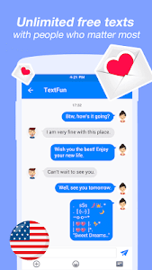 screenshot of Free Text & Free Call & Text Free version 1.5.1