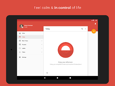 screenshot of Todoist: To-do lists for task management & errands version 13.1