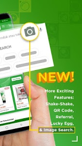screenshot of Tokopedia - Online Shopping & Mobile Recharge version 2.28