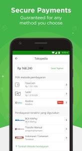 screenshot of Tokopedia - Online Shopping & Mobile Recharge version 2.22.2