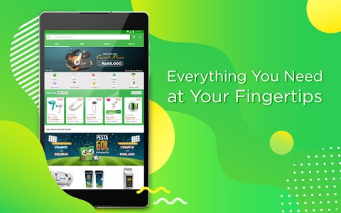 screenshot of Tokopedia - Online Shopping & Mobile Recharge version 2.24.1