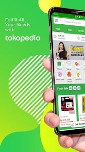screenshot of Tokopedia - Online Shopping & Mobile Recharge version 2.25.1