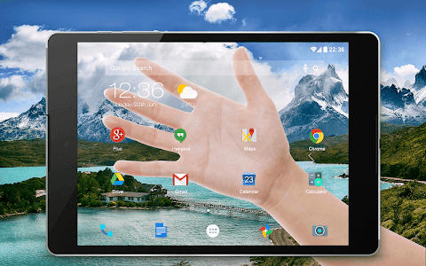 Download Transparent Screen Simulated 4.2 APK