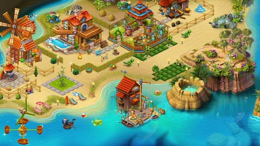 Download Tropic Trouble Match 3 Builder 5.31 APK