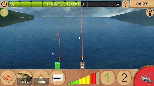 screenshot of True Fishing. Fishing simulator version 1.10.3.476