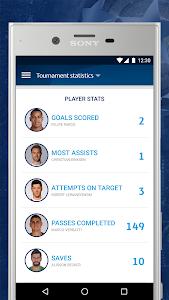 screenshot of UEFA Champions League version 1.59