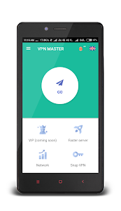 screenshot of VPN MASTER-Free version 1.3