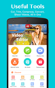 screenshot of VideoShowLite:Video editor,cut,photo,music,no crop version 8.2.4lite