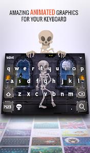 screenshot of Wave Animated Keyboard + Emoji version 1.20