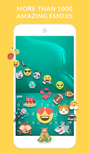 Download Wave Keyboard Background - Animations, Emojis, GIF 1.61.5 APK