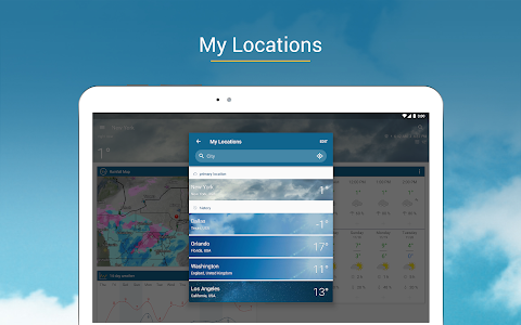 screenshot of Weather & Radar - Free version 4.44.2