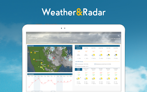 screenshot of Weather & Radar - Free version 4.38.1