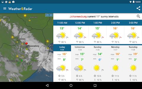 screenshot of Weather & Radar version 3.9.0