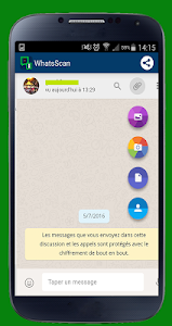 screenshot of WhatScan for WhatsApp Web version 3.17