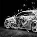 Download White Smoke Car 1.1.2 APK