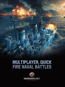 screenshot of World of Warships Blitz version 0.7.0