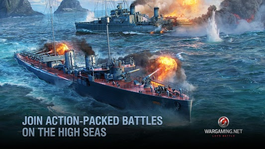 screenshot of World of Warships Blitz: MMO Naval War Game version 1.6.3