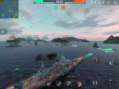 screenshot of World of Warships Blitz: Multiplayer Navy War Game version 1.10.1