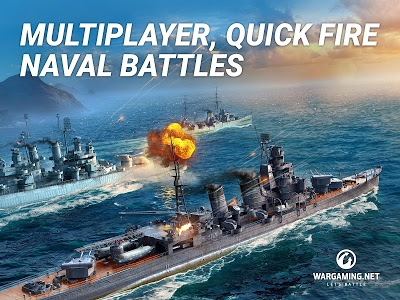 screenshot of World of Warships Blitz version 1.2.0