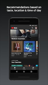 screenshot of YouTube Music - Stream Songs & Music Videos version 2.65.53