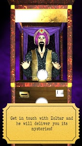 screenshot of Zoltar fortune telling 3D version 1.4.6