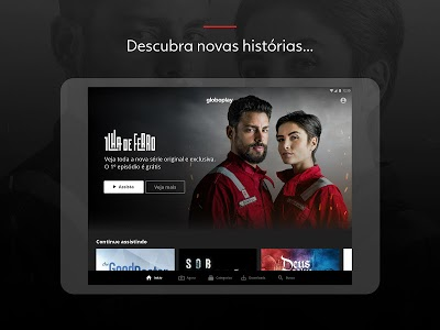 screenshot of Globoplay version 3.3.5