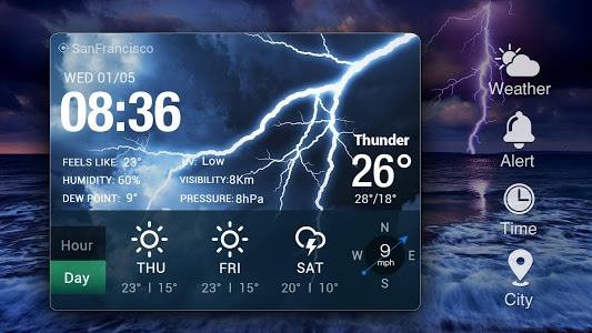 Download OS Style Daily live weather forecast 10.0.1.2019 APK