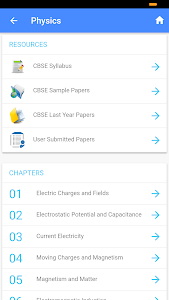 screenshot of myCBSEguide - CBSE Papers & NCERT Solutions version 2.2.9