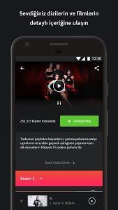 screenshot of puhutv version 1.2.1